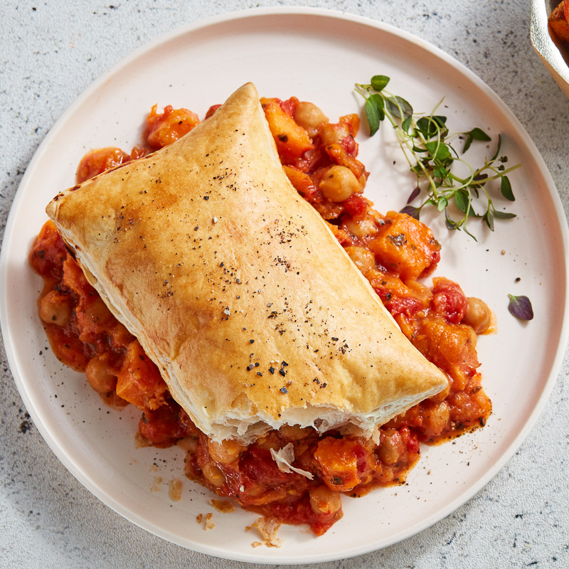 Moroccan Style Chickpea Pie